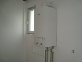 New boiler placed in nurseryschool