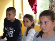 Heating a primary school in Cerovica